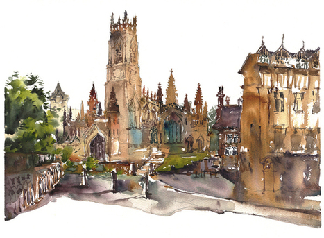 Manchester Urban Sketchers Symposium : Painting the town (brick) red! | Explore & document the World | Scoop.it