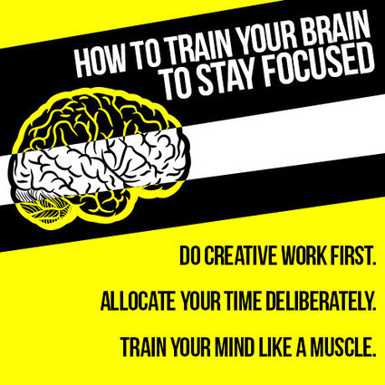 How to Stay Focused: Train Your Brain | Women in Business | Scoop.it