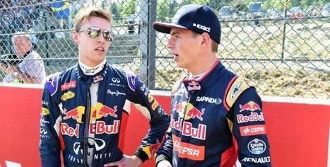 F1 - Red Bull - Max Verstappen remplace Daniil Kvyat chez Red Bull jusqu'à la fin de la saison | Auto , mécaniques et sport automobiles | Scoop.it
