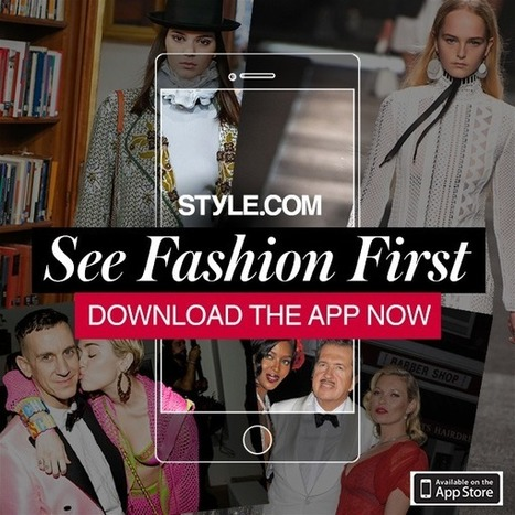 Fall 2015 Trend Report - Style.com | CLOVER ENTERPRISES ''THE ENTERTAINMENT OF CHOICE'' | Scoop.it
