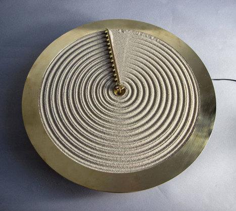 A sand clock inspired by Japanese zen gardens | Zen Gardens | Scoop.it