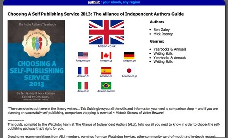 Indie Authors: Get One Link To Your Book In All Amazon Stores | Litteris | Scoop.it