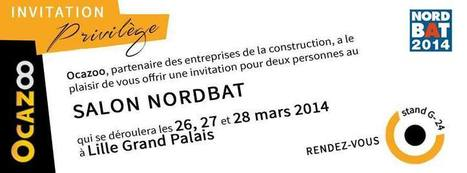 OCAZOO vous invite au salon NORDBAT | Facebook | LE BTP | Scoop.it