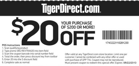 tiger direct coupon code | fashion | Scoop.it