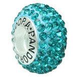Pandora beads Swarovski CZDiamond 925 Sterling Silver BlueZircon [PU3] - $5.50 | Cute Pandora Charms on bracelet-bead.com | Scoop.it