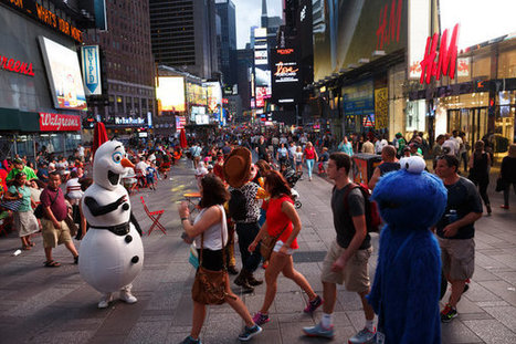 CHALLENGING Mayor de Blasio Over Times Square Plazas | URBANmedias | Scoop.it