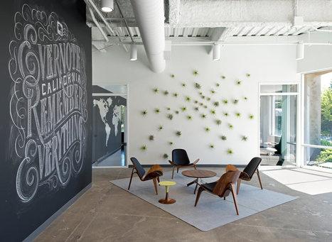 Evernote Offices Designed With Creative Details - Design Milk | bureau : espace innovant | Scoop.it