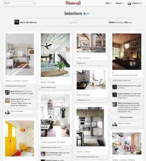 Connaissez-vous Pinterest, le dernier épiphénomène d'une longue série ! | Communautés collaboratives | Scoop.it