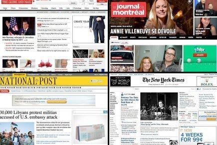Québec : Fini les journaux gratuits sur le web? | DocPresseESJ | Scoop.it