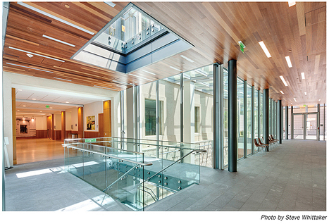 Library Journal feature - New Landmark Libraries: UC Berkeley Law Library, #WOW!   Library Collaboration   Scoop.it
