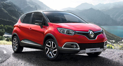 Renault and Helly Hansen Launch Limited Edition Captur - Carscoops (blog) | Automotive | Scoop.it