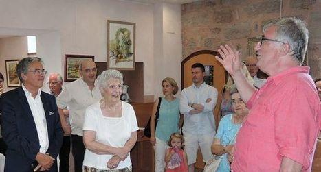 Le président de la mission culturelle au Vieux Palais | L'info tourisme en Aveyron | Scoop.it