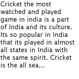 Season sports in India | Sports | Scoop.it