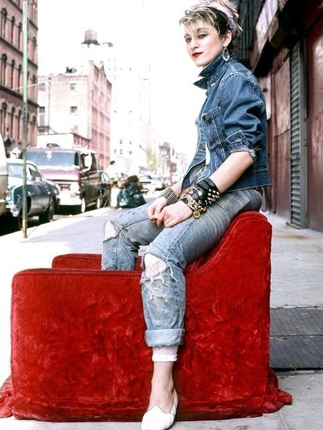 Shooting Film: Beautiful Madonna's Portraits in NYC, 1982   Fotografía   Scoop.it