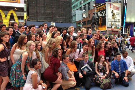 Starlight documenting SM East theatre star's trip to NYC for national awards | Prairie Village Post | OffStage | Scoop.it