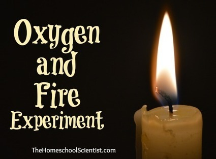 Oxygen and Fire Experiment - The Home School Scientist | Homeschooling Our Children | Scoop.it