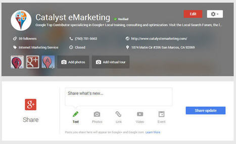 Google My Business Launching NOW Biggest Google Local Update Ever! | Google Maps Marketing | Scoop.it