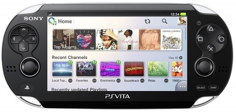 Sony's Music Unlimited service lands on Vita | Music business | Scoop.it