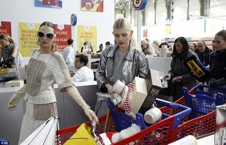 Welcome to Chanel's shopping centre.                                                  When Fashion meets FMCG ! | Mode et fashion | Scoop.it
