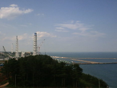 [photo] une 2e grue géante sur Fukushima | webcam Weather Online | Japon : séisme, tsunami & conséquences | Scoop.it