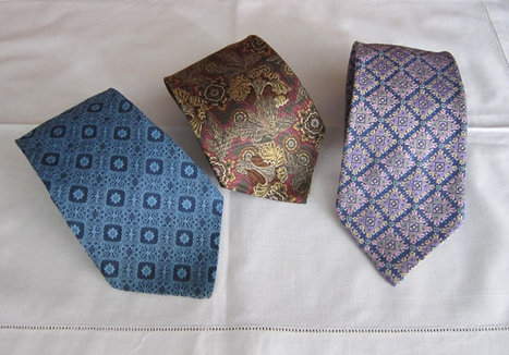 Vintage 1960s Mens Kipper Ties set 3   men's ties   Scoop.it