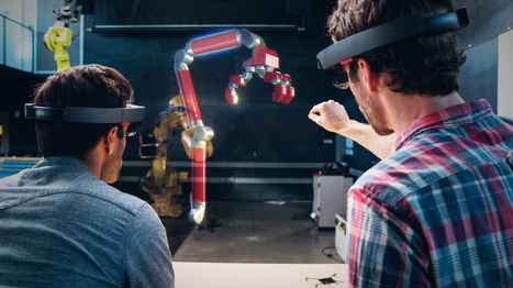 Microsoft Doesn't Want HoloLens to Be the Next Google Glass | New Space | Scoop.it