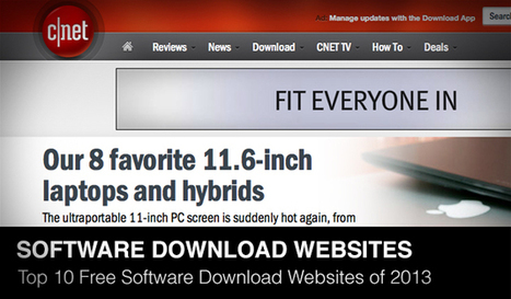 Top 10 Free Software Download Websites of 2013 | Daily Design Notes | Scoop.it