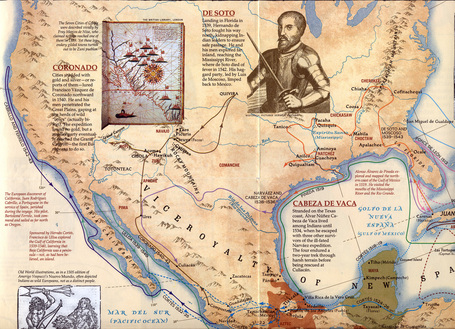 The European Explorers of North America ~ The US History | Historia y Mapas | Scoop.it