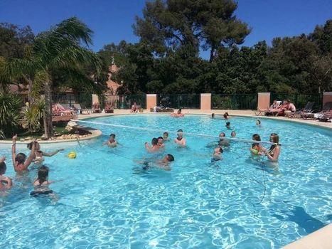 Espace aquatique camping Var jeux d'eau toboggan piscine chauffée Hyeres | Bons plans | Scoop.it