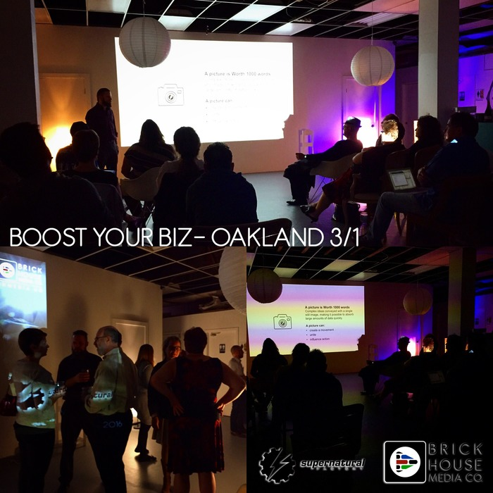 BHMC's Boost Your Biz - Oakland Event Photos | Multimedia Marketing by Brick House Media Co. | Scoop.it