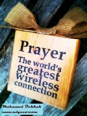 """""""Through #prayers, no wifi needed, you can easily be connected to God without interruptions..."""" 