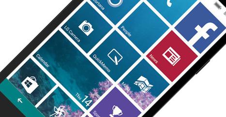 LG retrouve de l'intérêt pour Windows Phone | Veille technologique et juridique BTS SIO | Scoop.it