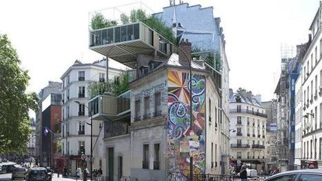 PARASITE FLATS invade Paris' 19th century cityscape - Architecture Lab | URBANmedias | Scoop.it