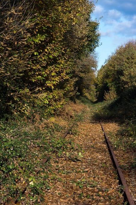 Bretagne - Finistère :  Le train de 12H46 n'est pas passé aujourd'hui... (5 photos) | photo en Bretagne - Finistère | Scoop.it