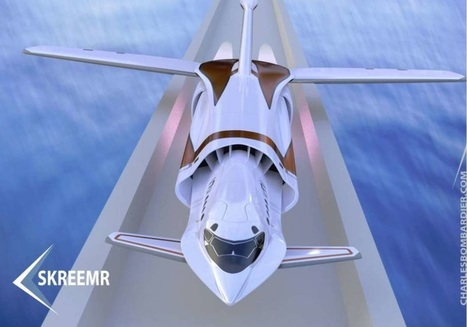 THIS HYPERSONIC PLANE CONCEPT COULD CROSS ATLANTIC IN UNDER AN HOUR | Ideas, Innovation & Start-ups | Scoop.it