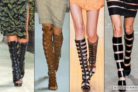 Trends: Gladiator Boots | StyleCard Fashion Portal | StyleCard Fashion | Scoop.it