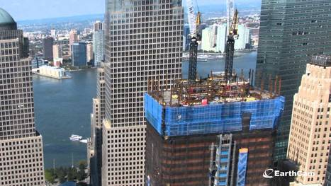 Official One World Trade Center Time-Lapse 2004-2013 | Dans l'actu | Doc' ESTP | Scoop.it