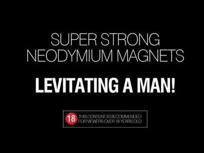 Super-strong neodymium magnets crushing a man's hand | Entertainment | Scoop.it