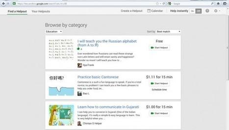Google Helpouts y el avance del aprendizaje colaborativo ... | grupo de aprendizaje | Scoop.it