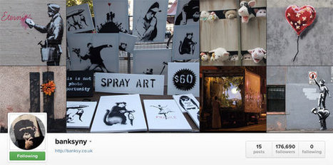 The Elusive British Artist Banksy Joins the Social Web - New York Times (blog)   A better social media world   Scoop.it