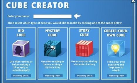alsalirdelcole – Cube creator. Crea pequeñas historias y ensámblalas en un cubo   La R-Evolución de ARMAK   Scoop.it