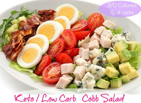 Keto Cobb Salad - Low Carb Diet | My Dream Shape! | Fitness | Scoop.it