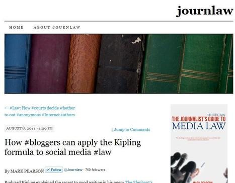 Journlaw | Top sites for journalists | Scoop.it