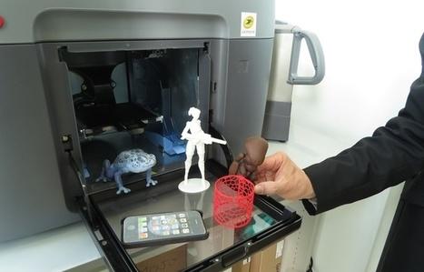Nantes: Une imprimante 3D pour le grand public au bureau de poste Nantes-Bretagne | Early Nantes | Scoop.it