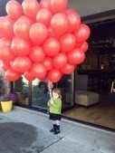 Photo of the Day: The Girl with the Red Balloons - Patch.com | Flowers for all occasions | Scoop.it