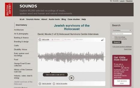 80.000 archivos de sonido en el portal de la British Library | Educación Virtual UNET | Scoop.it