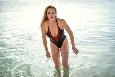 Photos : Lindsay Lohan en maillot de bain sexy | Radio Planète-Eléa | Scoop.it