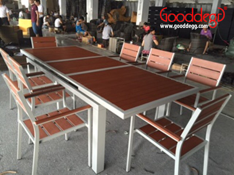 KORO Extendable Dining Set at Production Floor | Home Decor (Wicker Furniture) | Scoop.it