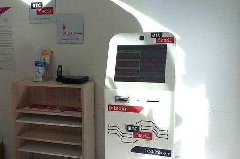 Un distributeur de bitcoins à Montpellier | Vous avez dit Innovation ? | Scoop.it