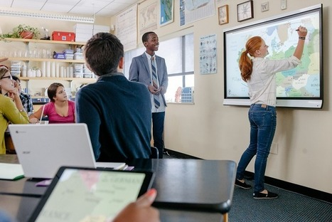 L'écran interactif vous revient moins cher qu'un tbi ou un vpi | Courants technos | Scoop.it